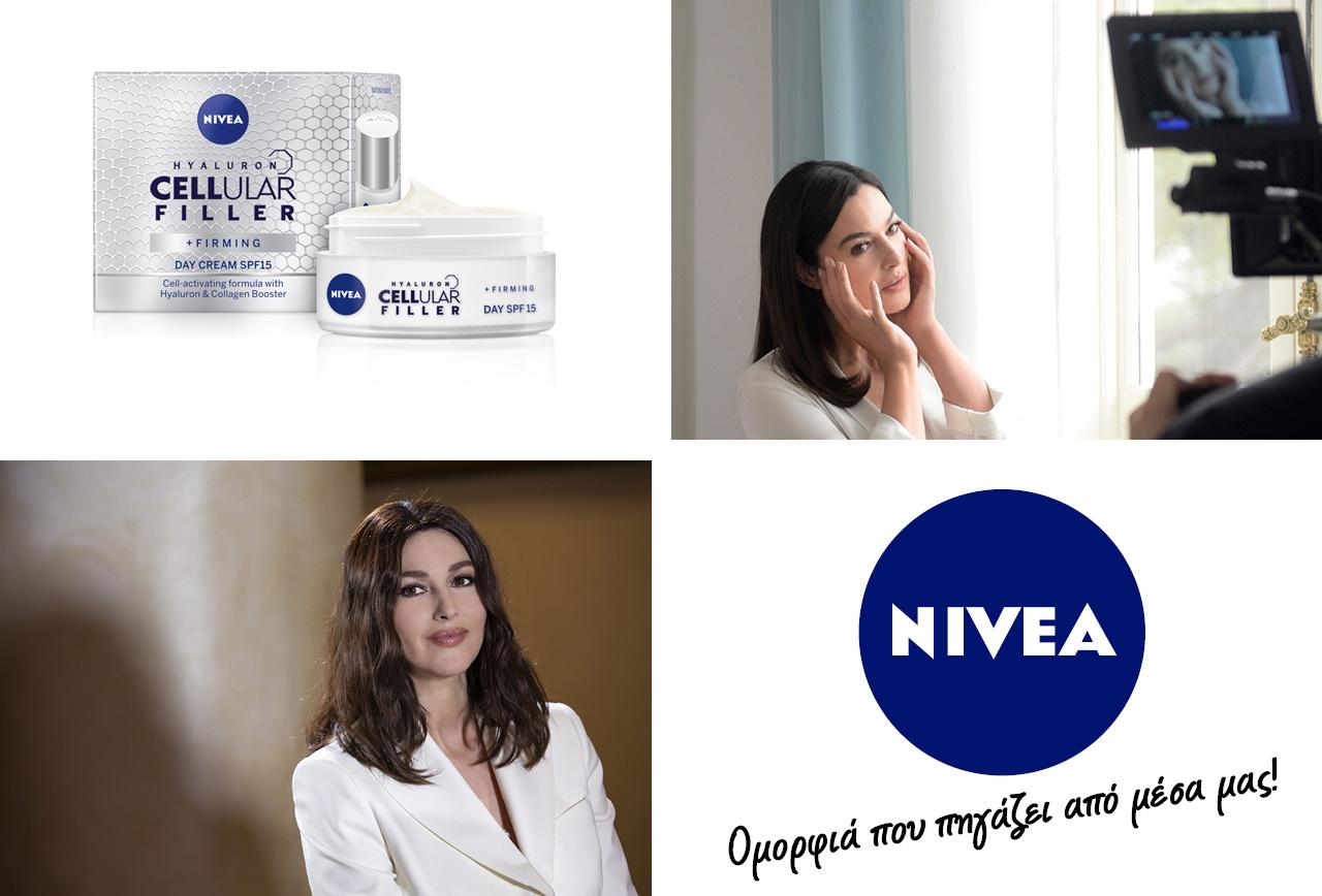 NIVEA Hyaluron Monica Belucci