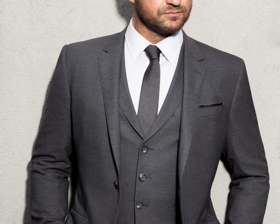 Gerard Butler Suit Boss