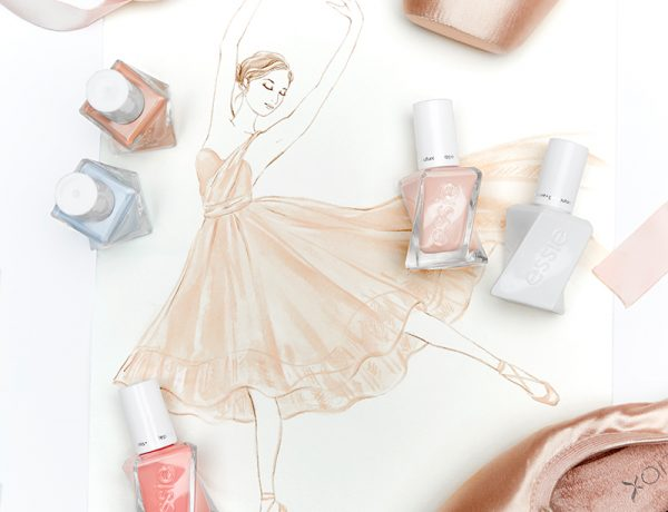 Essie Ballet Nudes Gel