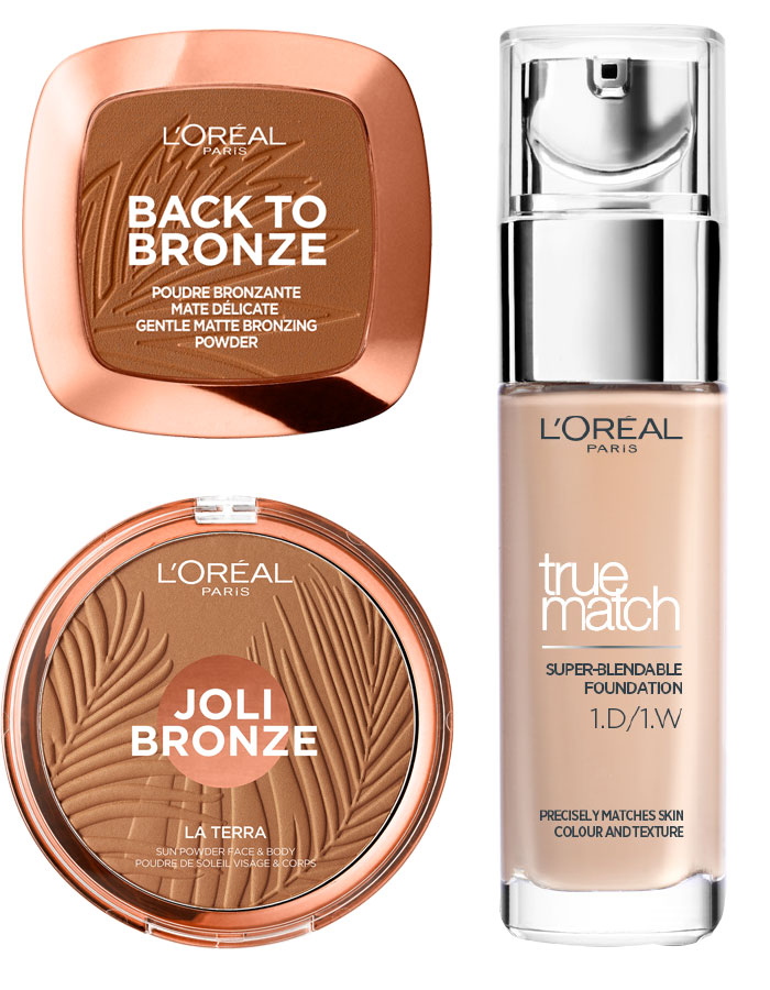L'Oréal Paris Back To Bronze Matte Bronzing Powder, L'Oréal Paris Joli Bronzer La Terra