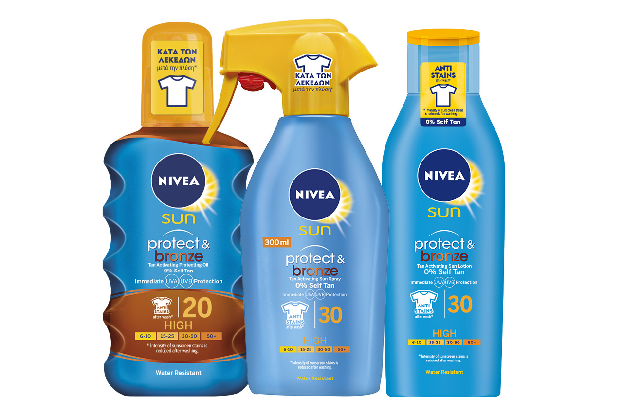 NIVEA Sun Αντηλιακή προστασία