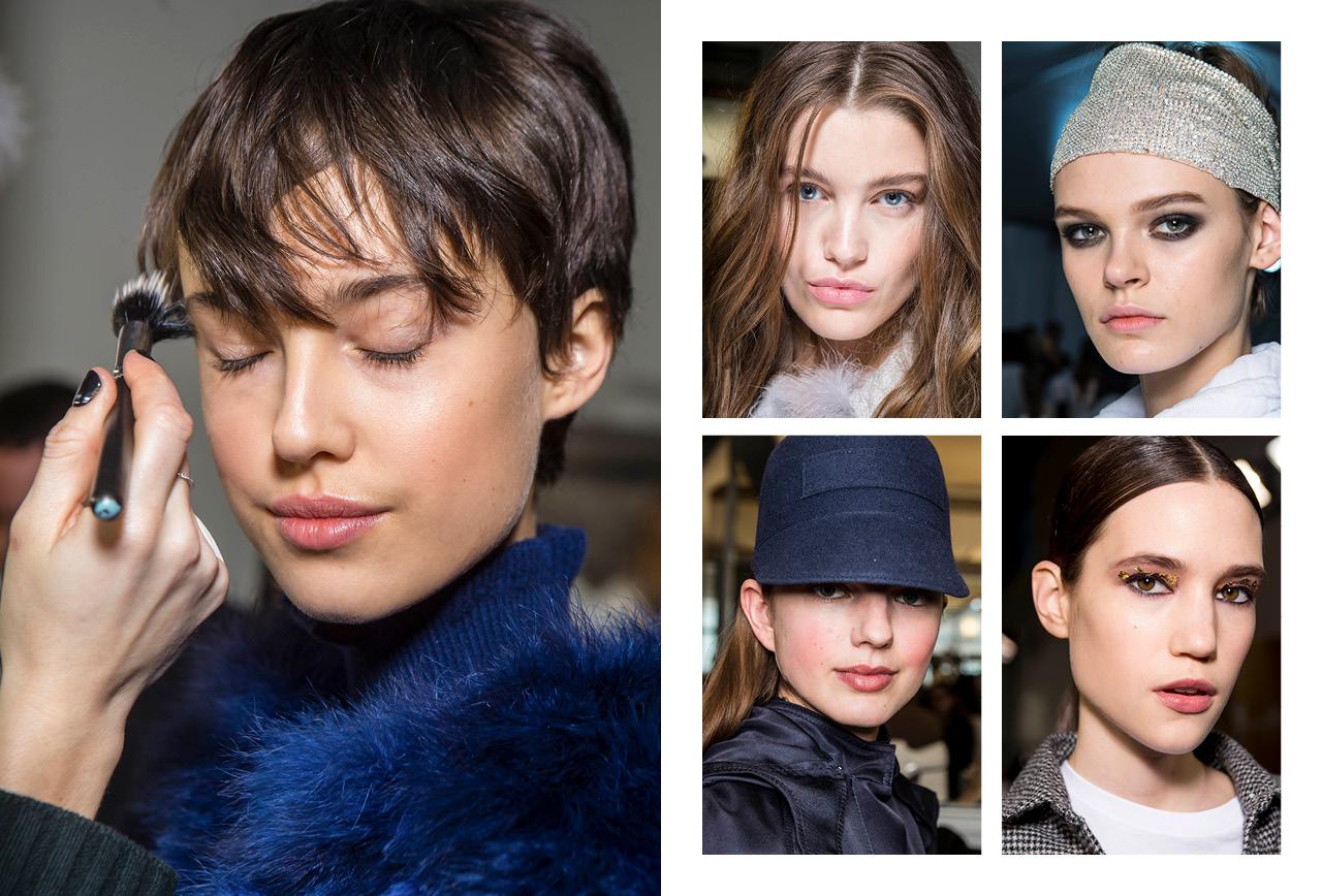 Make up trends Winter 2018