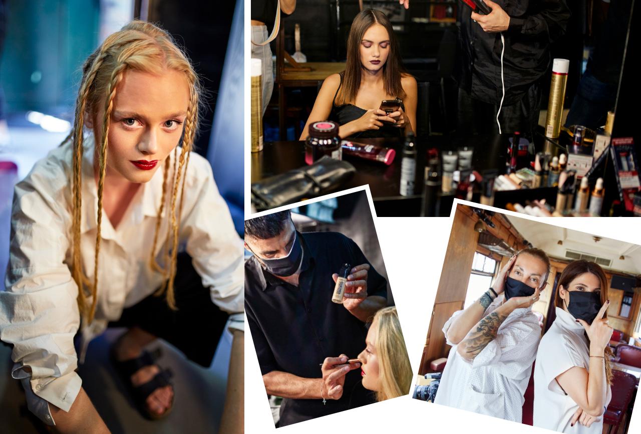 Backstage με την Ρούλα Ρέβη και τη L'Oréal Paris | IQbeaute